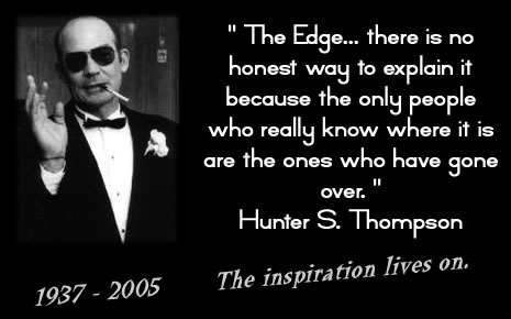 Quote Hunter S Thompson
