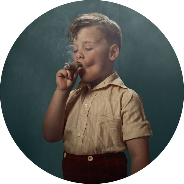Smoking Kids, by Frieke Janssens