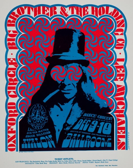 Concert Poster: Big Brother & The Holding Company