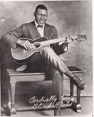 Blind Blake was one of the blues' most spectacular guitar players.