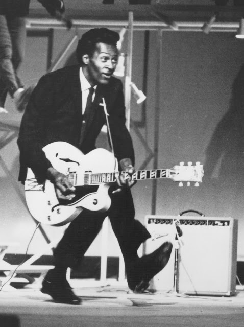 Chuck Berry - the polar opposite of Elvis Presley