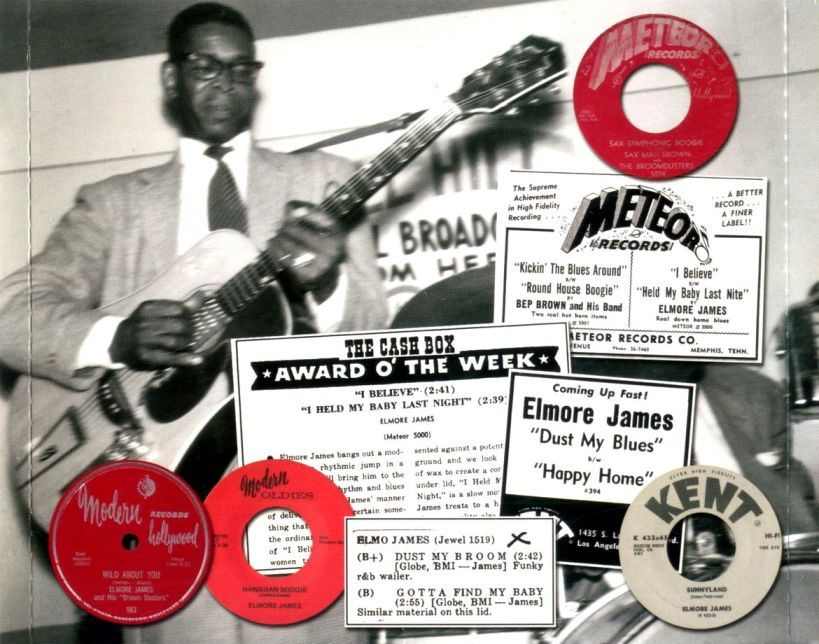 Slide guitar stylist Elmore James