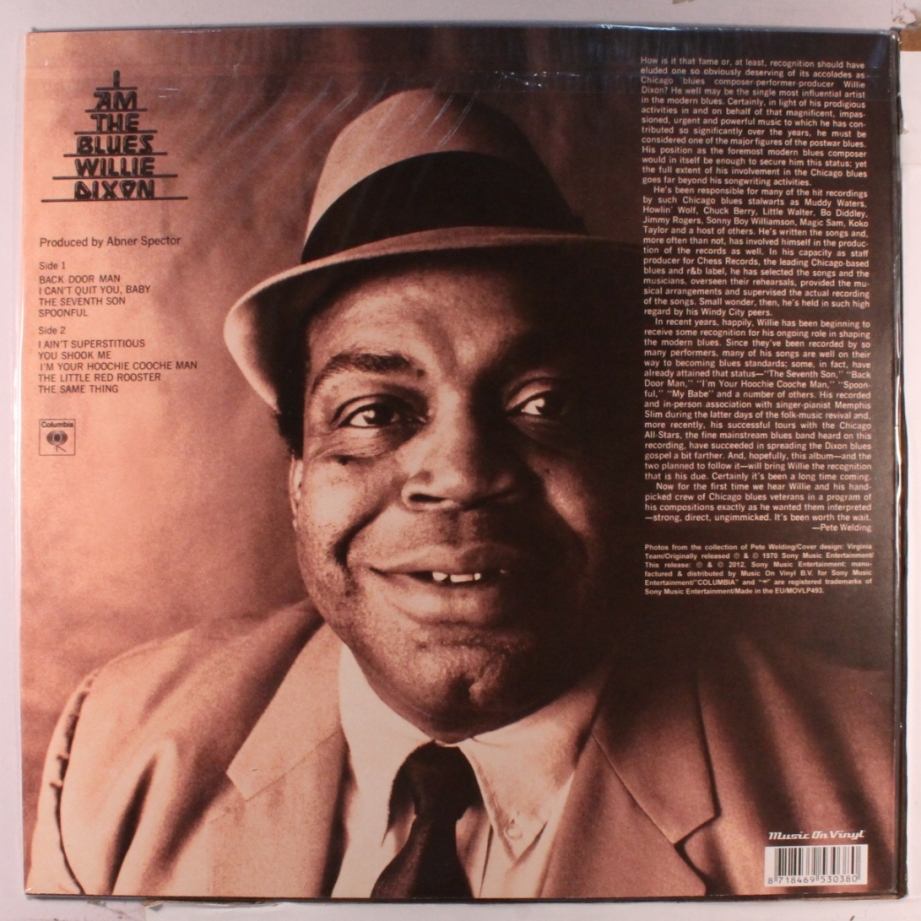 Willie Dixon, the Blues chef
